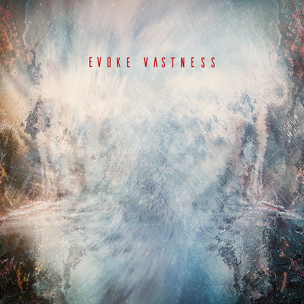 Humming Frequencies' Evoke Vastness compilation artwork