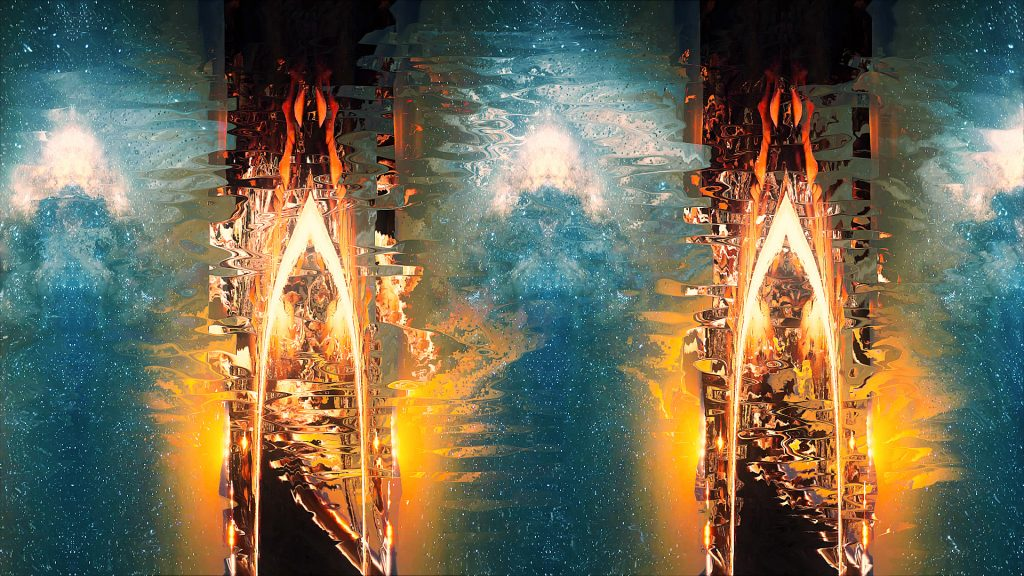 Thy Veils - Neoradiant - live visuals 1