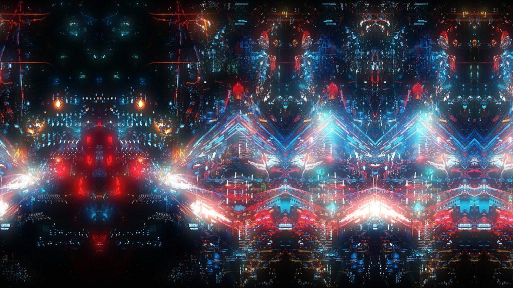 Thy Veils - Neoradiant - live visuals 3